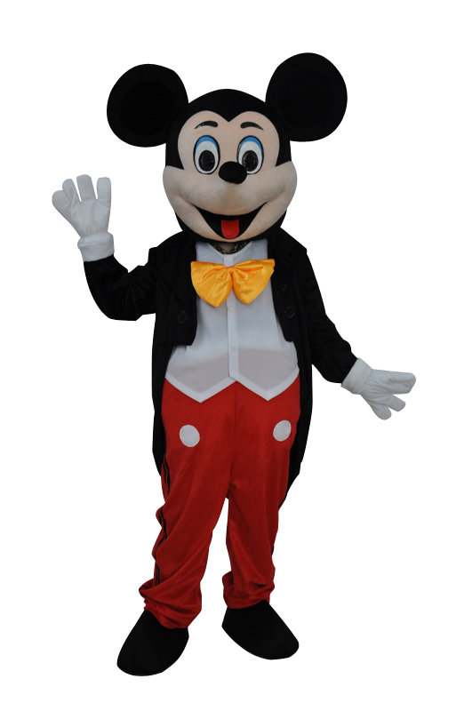 Mickey Mouse mascot hire