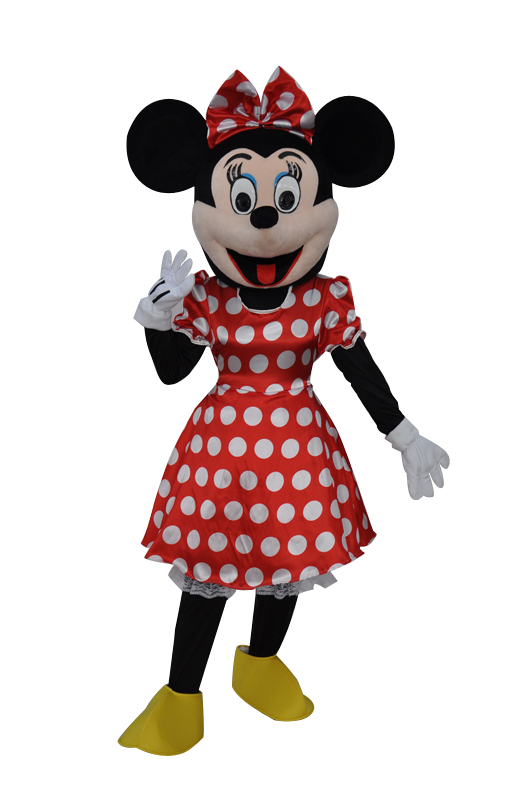 Minnie Mouse mascot hire